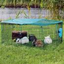 Trixie Jungtiergehege 6-Eck mit Schutznetz - 6 Elemente à B 58 x H 38 cm