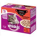 Megapack Whiskas 1+ Adult Frischebeutel 48 x 85 g / 100 g - Creamy Soups Klassische Auswahl (48 x 85 g)