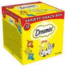 12 x 60 g Dreamies Katzensnacks Mixbox (Huhn, Käse, Lachs) - 12 x 60 g
