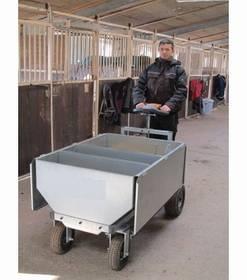 Pferdezubehör: Elektrischer Futterwagen erleichtert das füttern ab 4.199 €